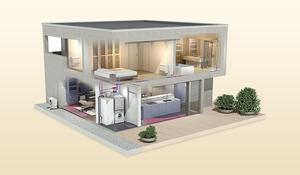 Air Source Heat Pumps Renewable Energy Systems Underfloor Heating Radiators Hot Water Energy Efficient Sustainable Heat